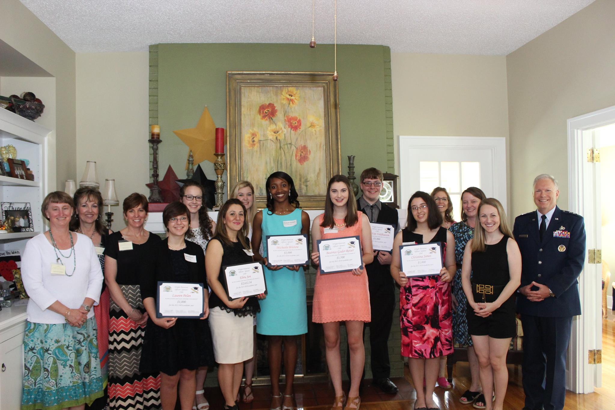 2014-2015 Scholarship Winners